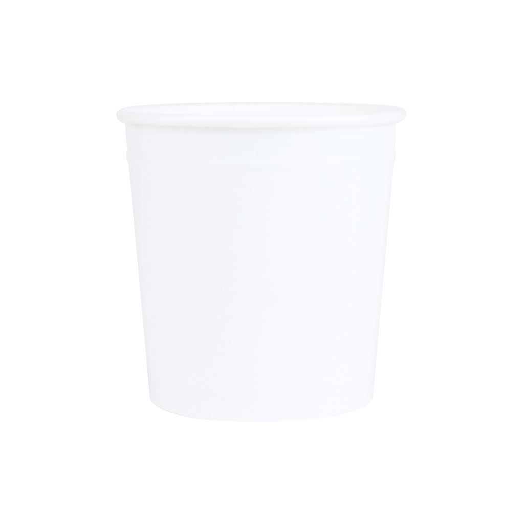 Ice Cream Tubs 166ml White x 2790