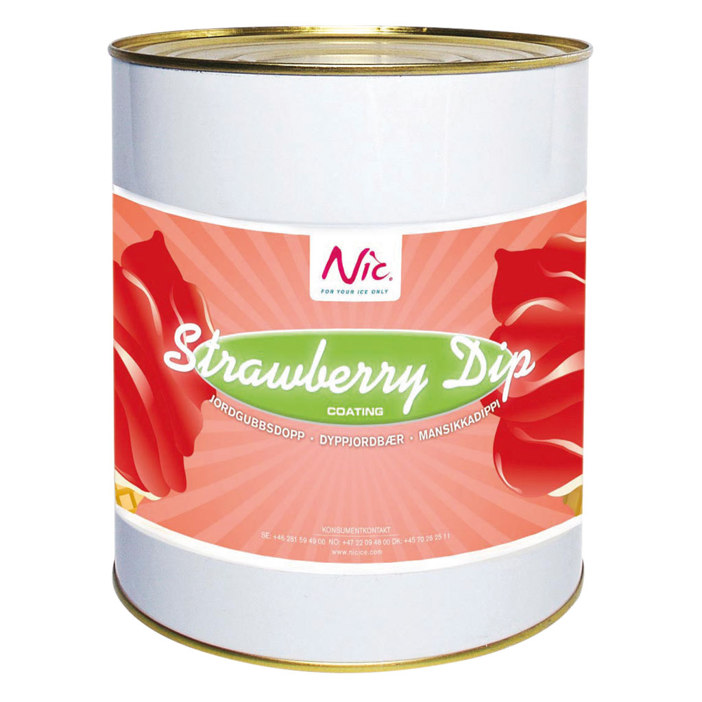NIC Strawberry Dip x 3kg