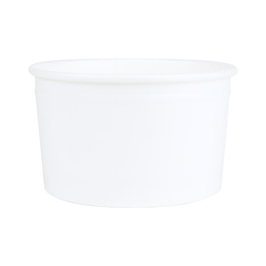 Ice Cream Tubs 239ml White x 960