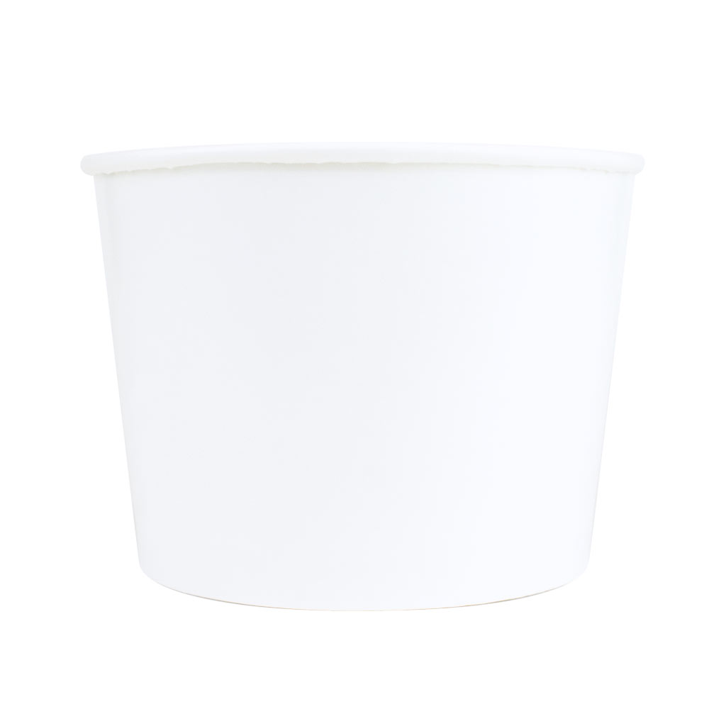 Ice Cream Tubs 516ml White x 900