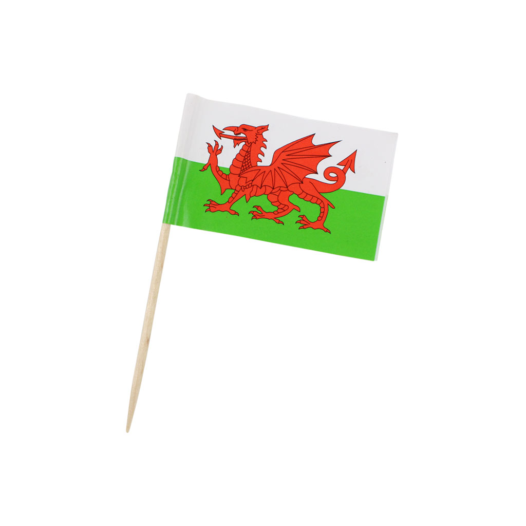 Welsh Flags x 1000
