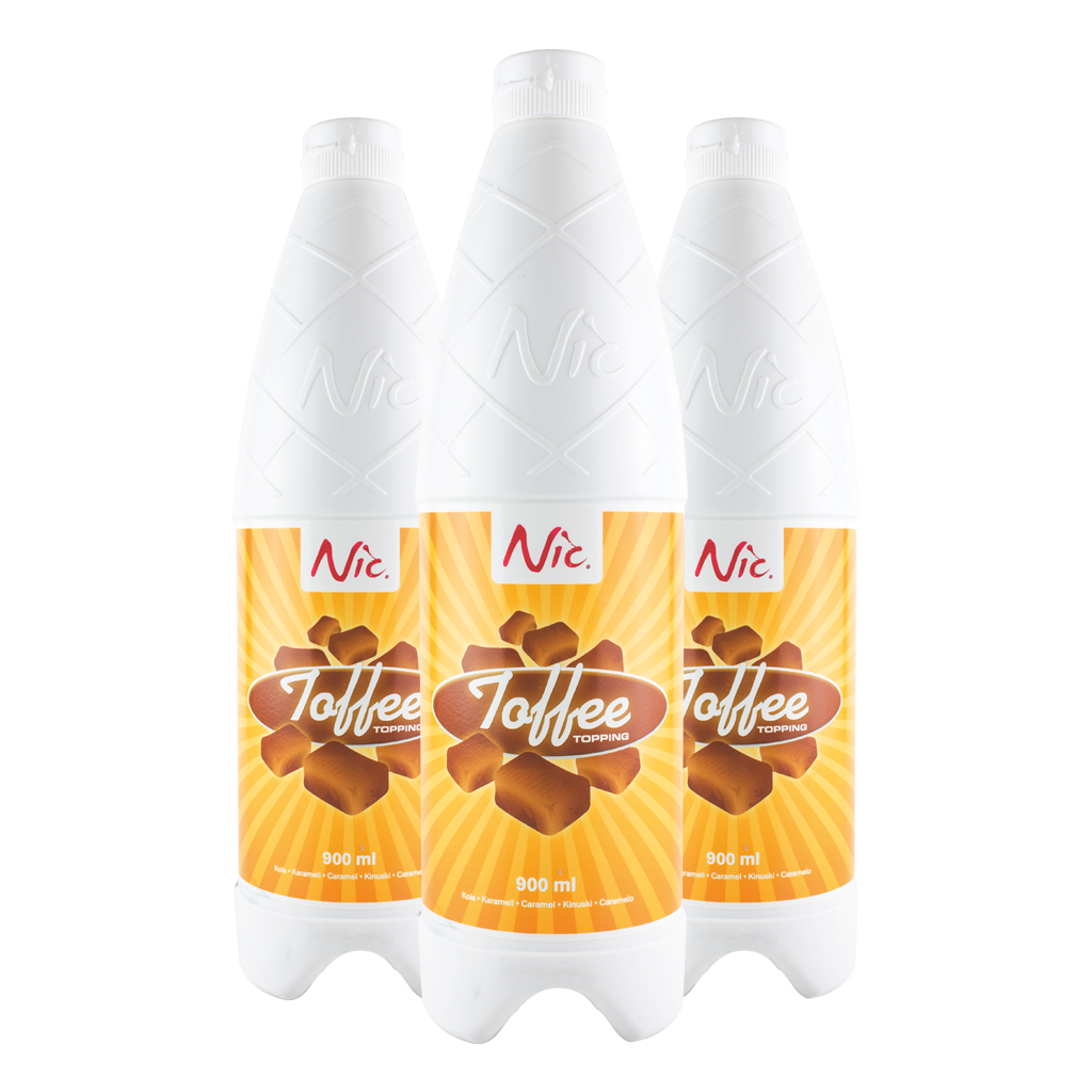 Toffee NIC Sauce x 1.2kg