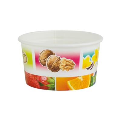 Ice Cream Tubs 107ml New Fruit x 2000