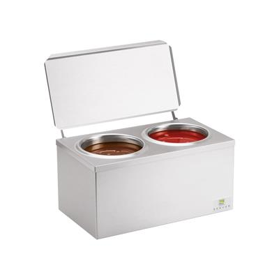 Hot Sauce Dispenser Double Unit (No Pump) x 1