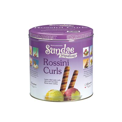 Rossini Deluxe Wafer Curls Tins 2 x 280