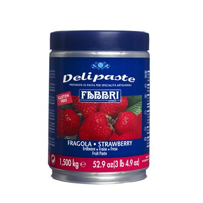 Strawberry Delipaste EU With Seeds 65X  x 1.5kg