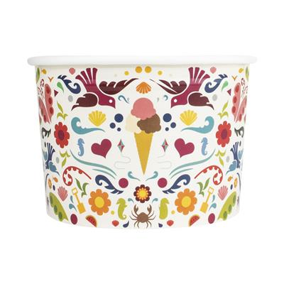 Ice Cream Tubs 285ml Love Summer x 960