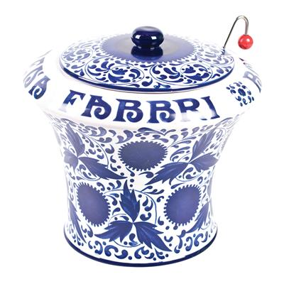 Fabbri Ceramic Jar Large V43  x 1